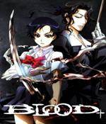 Blood Plus Anime Cover