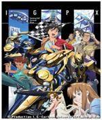 Immortal Grand Prix Igpx Anime Cover